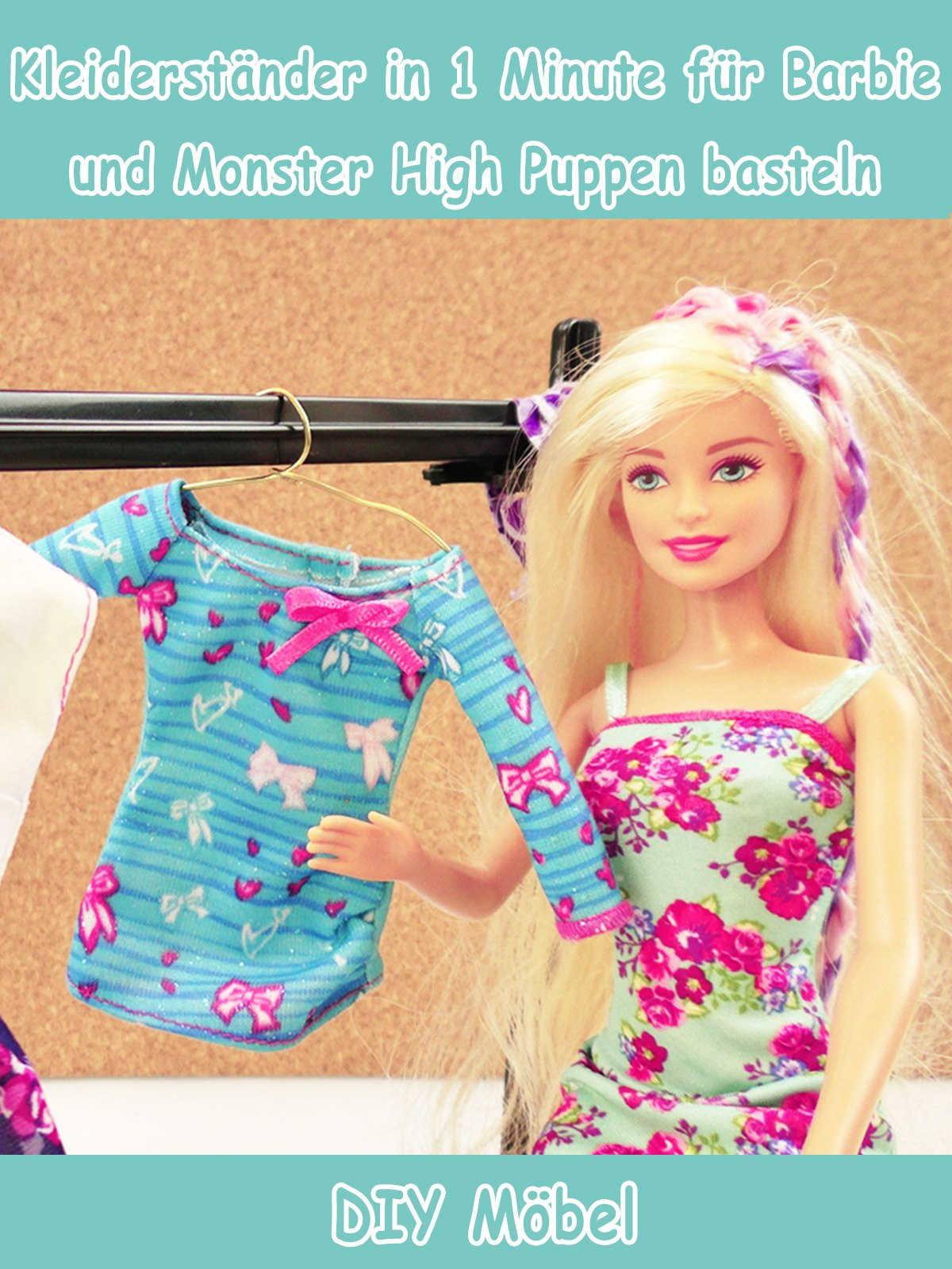 Clip Kleiderständer In 1 Minute Für Barbie Und Monster High