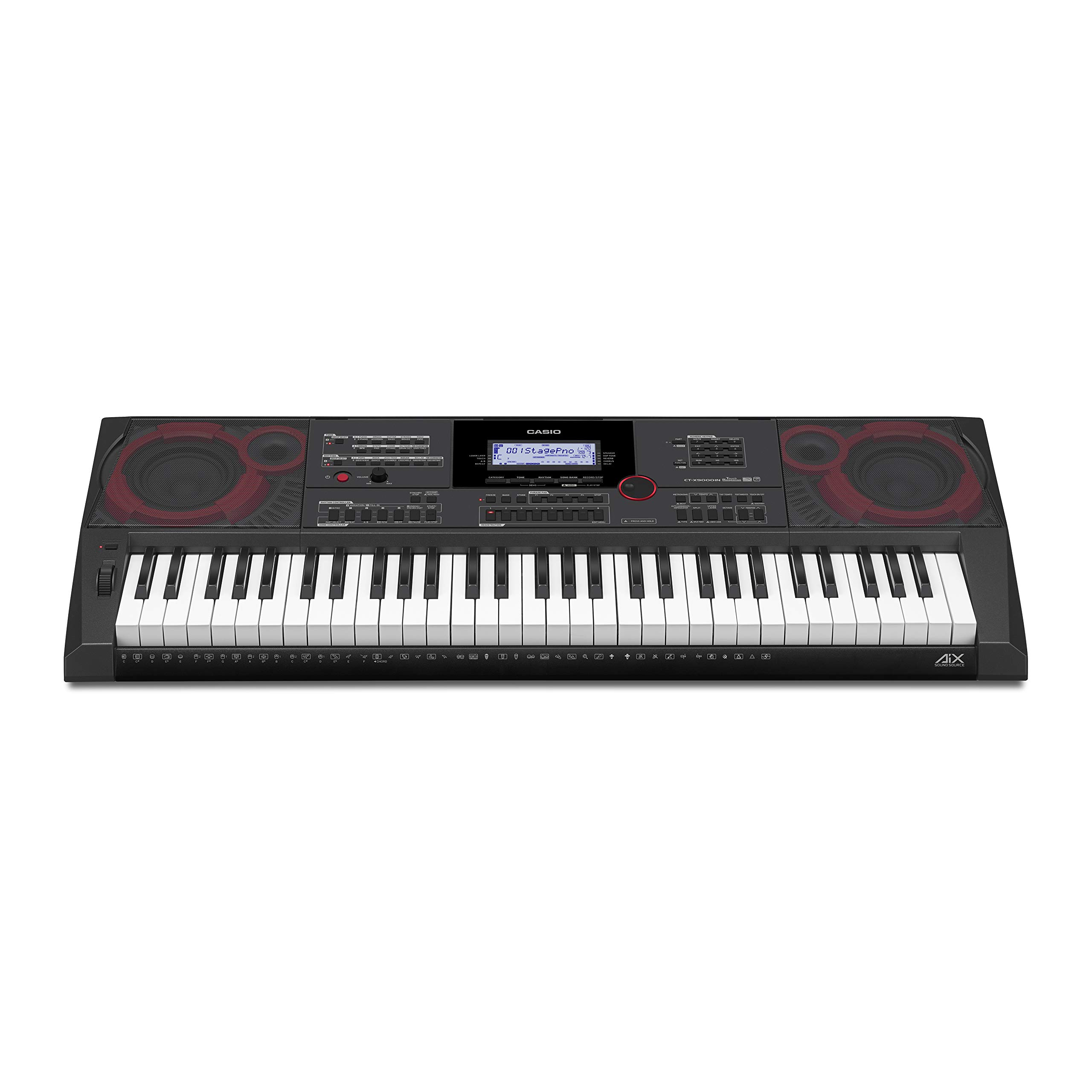 Casio CT-X9000IN 61-Key Portable Keyboard (Black) product image