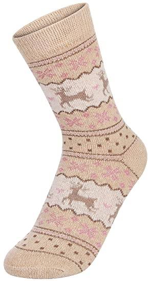 EOZY 1/5 Pares Calcetines Algodón Mujer Térmicos para Otoño Invierno Talla Unica Amarillo: Amazon.es: Ropa y accesorios