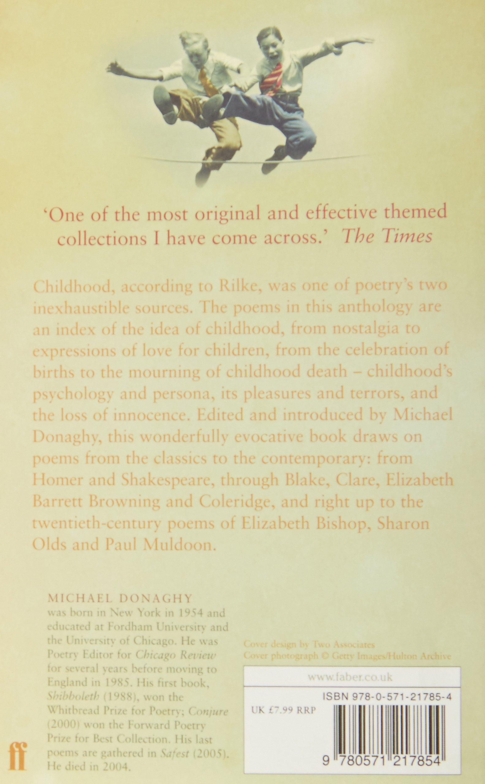 101 Poems About Childhood: Amazon: Various Poets, Michael Donaghy:  9780571217854: Books