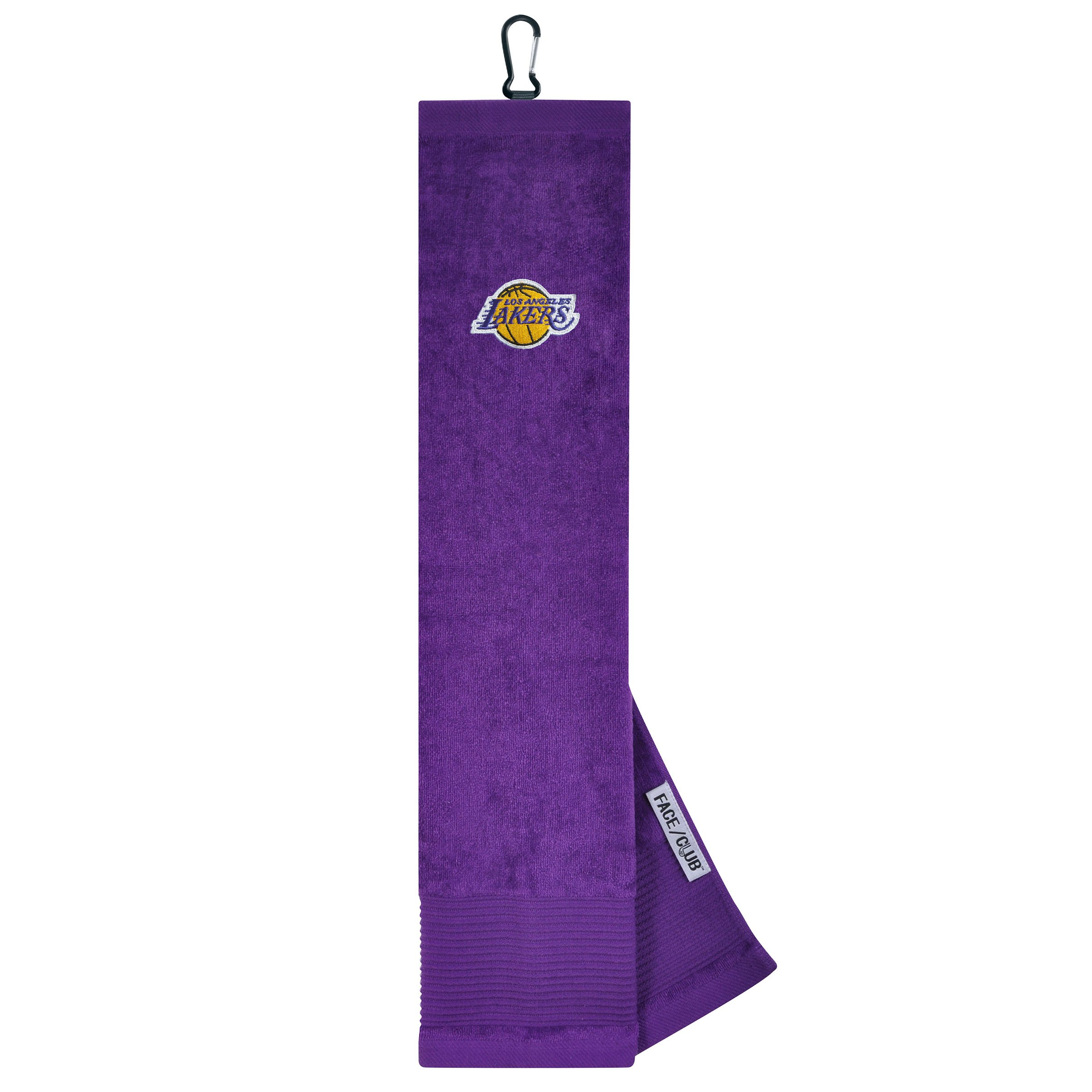 Team Effort NBA Los Angeles Lakers LA Lakers Face/Club Tri-Fold Embroidered Towelface/Club Tri-Fold Embroidered Towel, NA