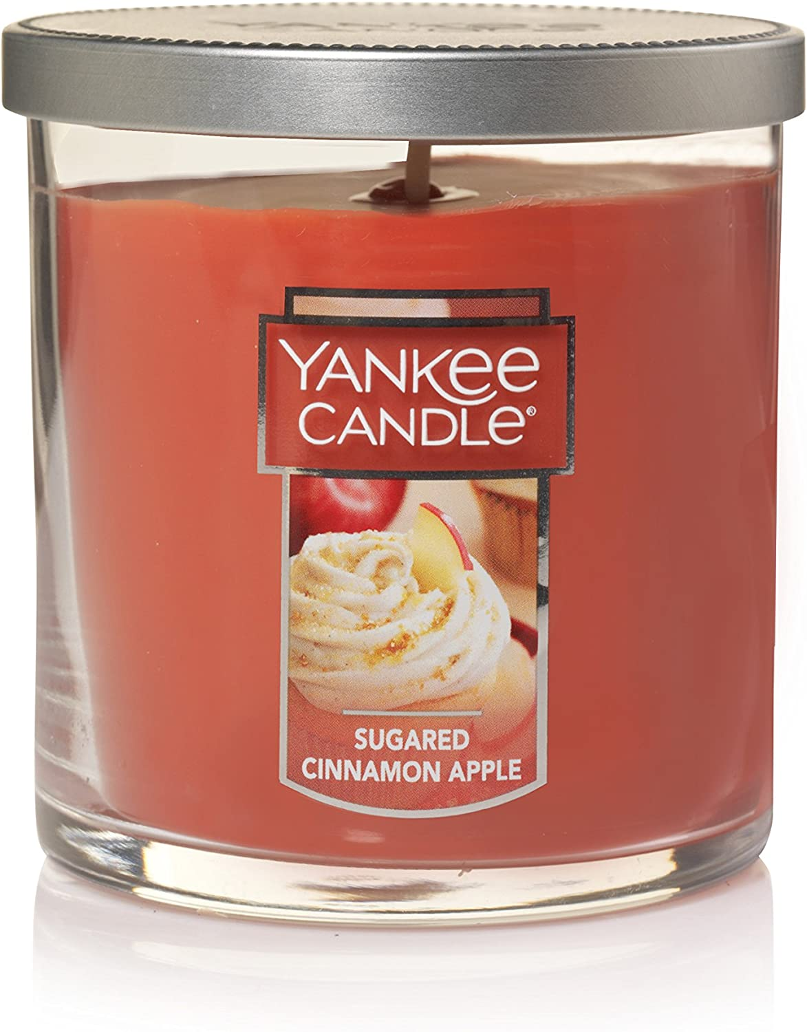 Yankee Candle Small Tumbler Scented Candle, Sugared Cinnamon Apple