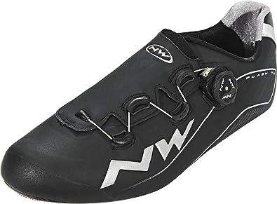 Zapatillas Carretera Northwave Flash TH Negro - Talla: 43: Amazon ...
