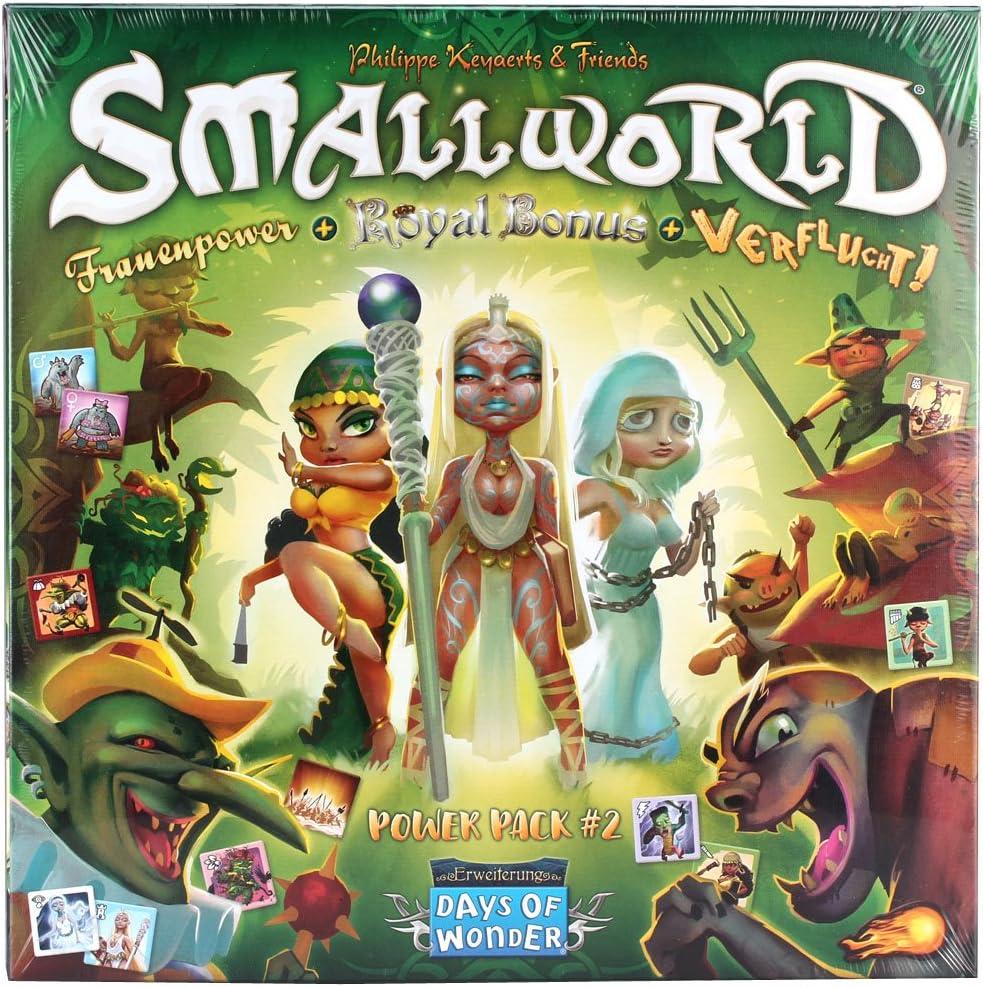 Days of Wonder DOW0011 Small World-Power Pack 2 - Ampliación de ...