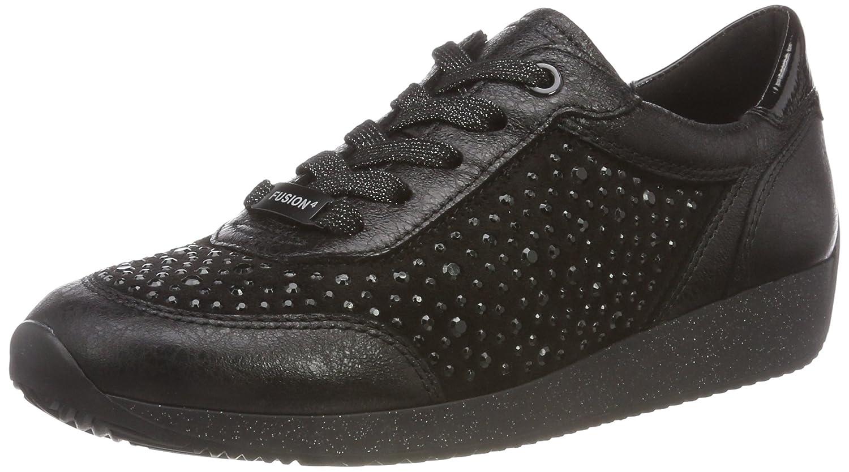 ARA Damen Lissabon Schwarz Sneaker Schwarz Lissabon (Schwarz 75) e422ca
