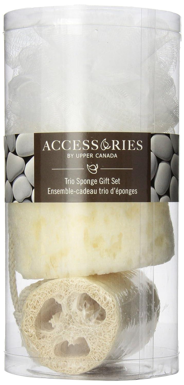 Upper Canada Soap Accessories Trio Sponge Gift Set 769100