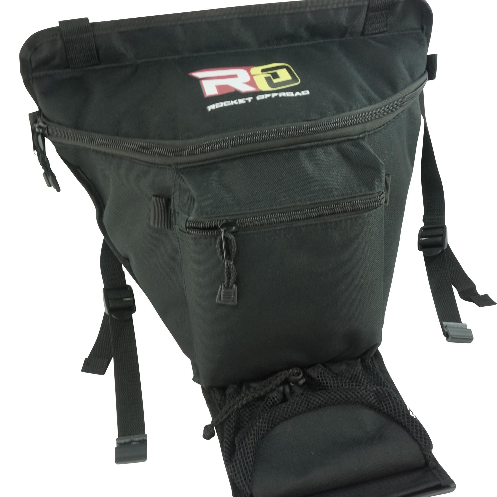 Rocket Offroad RO-UTV-SB Black UTV Cab Pack for RZR