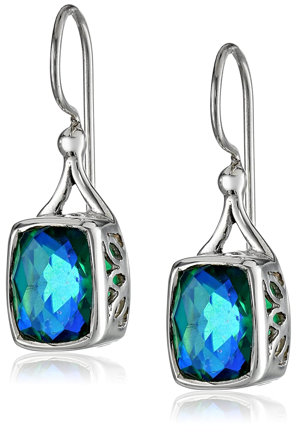 sapphire diamonds dia in gemstone blue natural set white carats sapphires gold earrings with