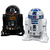Deals on Star Wars Droid Salt and Pepper Shakers Ceramic R2-D2 and R2Q5
