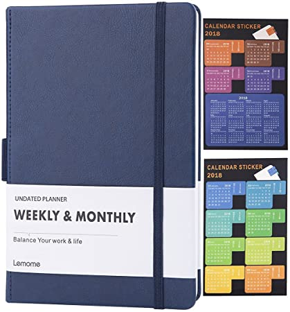 clearance sale undated weekly monthly planner 2018 calendar stickers to achieve