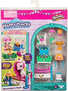 Happy Places Shopkins Pretty Pony Show Jumping Decorator's Pack