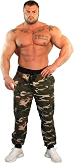 product image for Physique Bodyware Men's Camouflage Joggers with 3 Pockets. Made in America