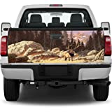 Mountains Lake Scenery #2 Landscape Truck Tailgate Vinyl Graphic Decal Wrap