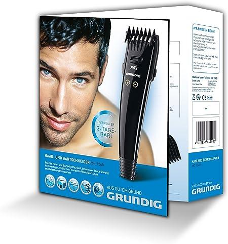 Grundig MC 7240 cortadora de pelo y maquinilla Negro, Plata ...