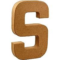 4x4x1cm Rayher 67088000 Pappmach/Ã/© Buchstabe N FSC Recycled 100/% mit