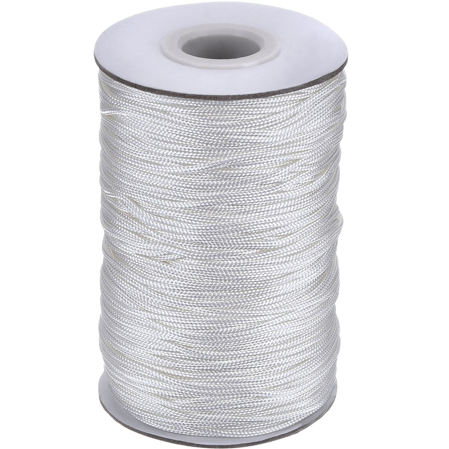 109 Yards/ Roll White Braided Lift Shade Cord for Aluminum Blind Shade, Gardening Plant and Crafts (1.4 mm) Outus 4337028221