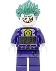 El despertador infantil con la figura de LEGO BATMAN Joker: 9009341