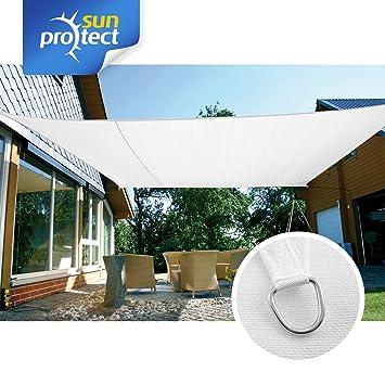 sunprotect 83237 professional toldo vela de sombra 6 x 4 m rectangular - Toldo Vela Rectangular