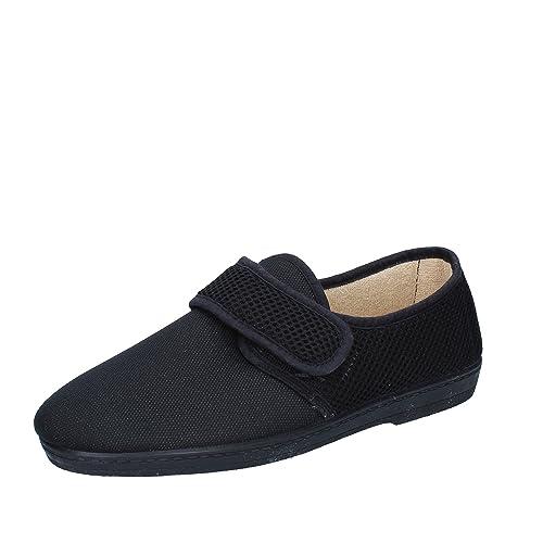 WALKSAN by SUSIMODA Pantofola Donna 42 EU Nero Tessuto  Amazon.it ... 7c5882801df