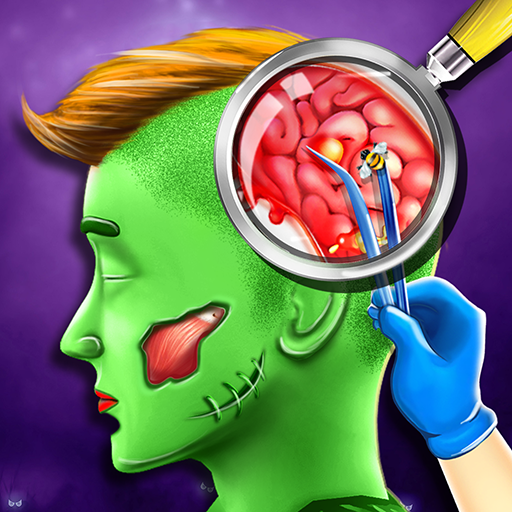 Halloween ER Emergency Doctor - Heart,Kidney,Brain,Elbow,Eye,Knee Surgery Simulator