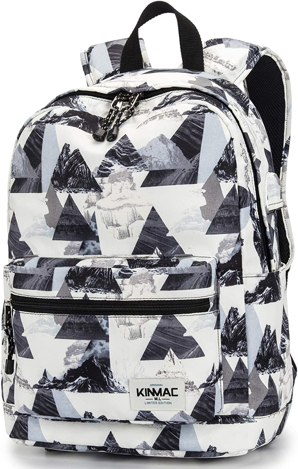 Kinmac Laptop Backpack (Large Size For 13 inch-14 inch-15.6 inch Laptop, Mountain)