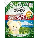 ファーファトリップ 静岡 濃縮柔軟剤 お茶の香り 詰替 大容量 1200ml
