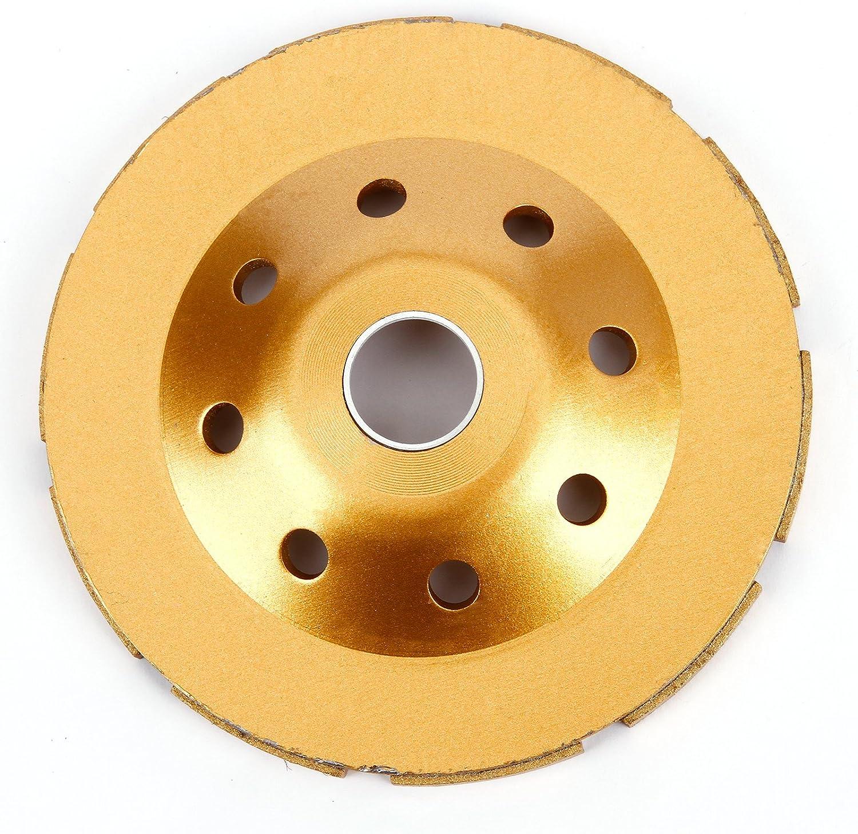 Heavy Duty b/éton Meule Diamant disque double rang/ée 125/mm 12,7/cm Jaune
