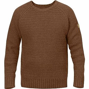 Fjällräven Herren Sörmland Roundneck Sweater Pullover, Chestnut, XL ... e06751181c