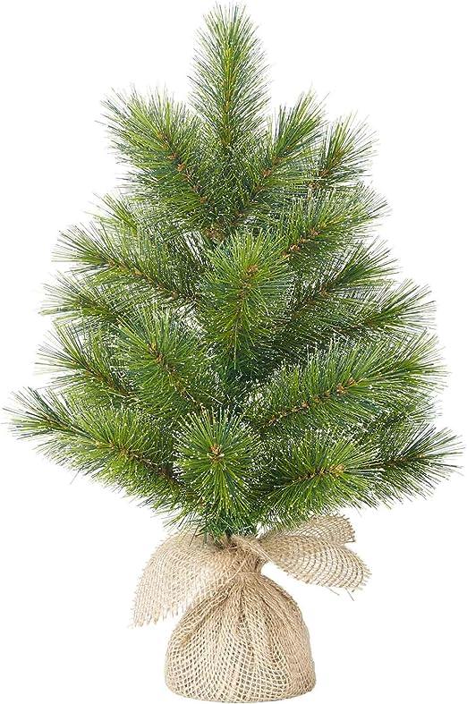 Black Box Mini Árbol de Navidad en Saco de Yute 60 cm de Alto – Mini Abeto: Amazon.es: Juguetes y juegos
