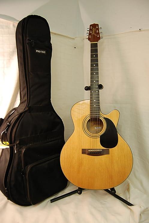 Jazmín por Takamine ES45 C acústica guitarra eléctrica: Amazon.es ...