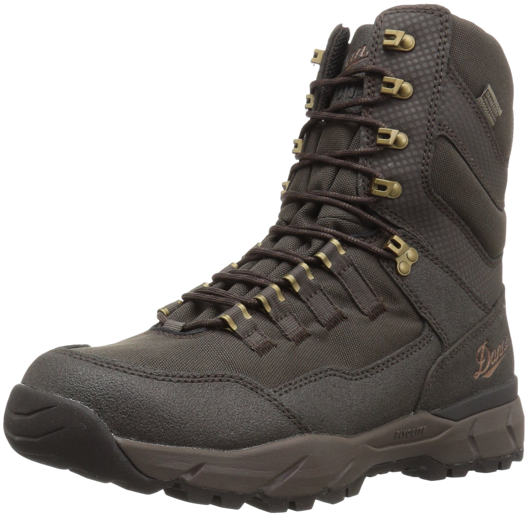 Danner Men's Vital Insulated 400G Hunting Shoes Brown 8 D US by Danner (Image #1)