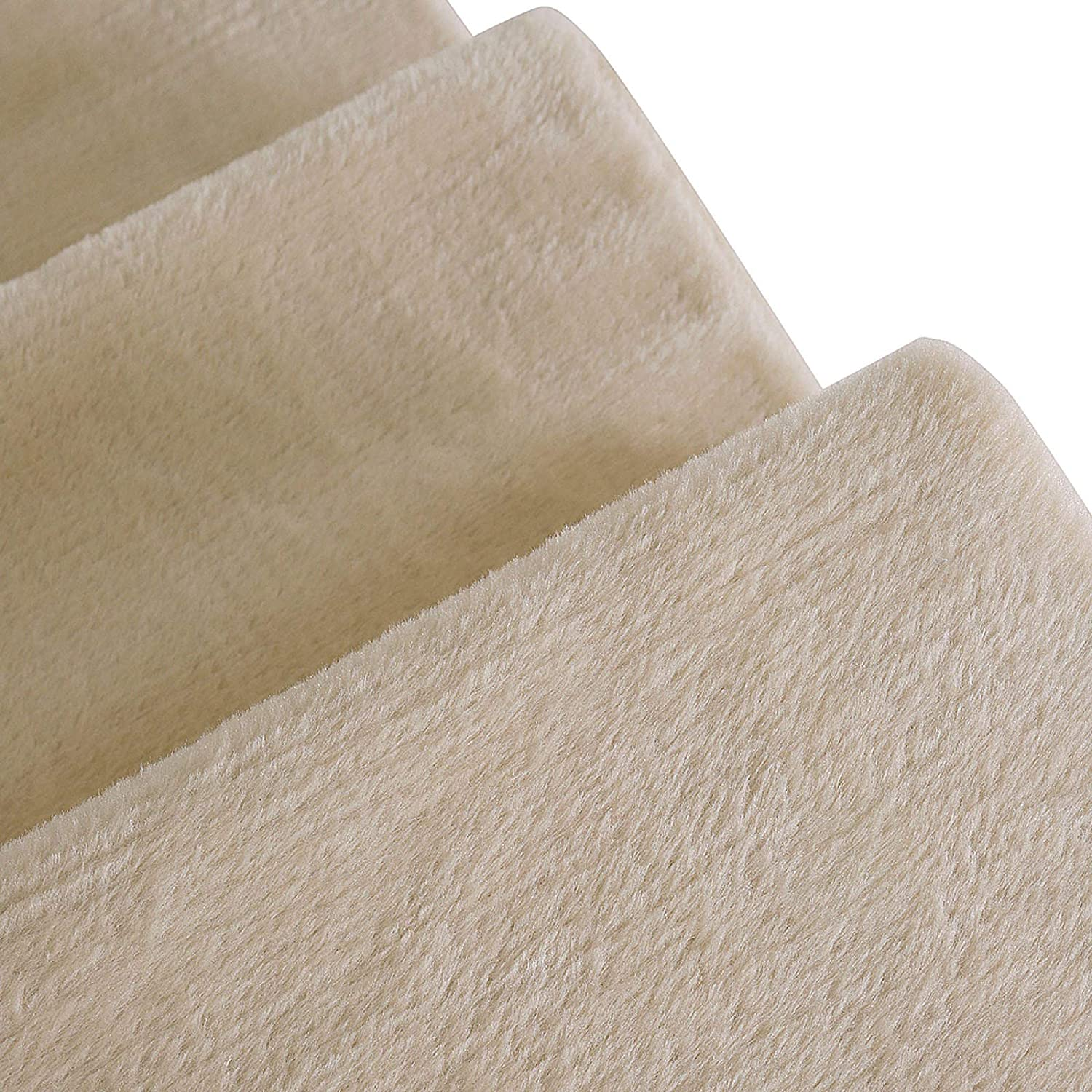 dibea HT00185 Pet Stairs//Cat Stairs with Plush Cover Beige