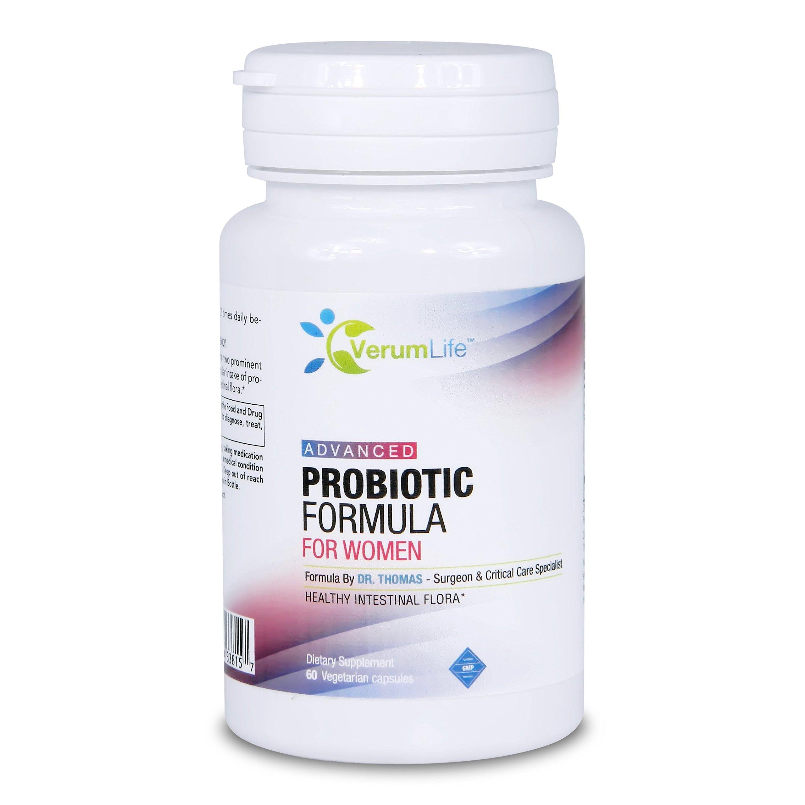 Probiotic For Women - Acidophilus & Bifidus Probiotic Blend For Proper Digestion And A Health Immune System (1 Bottle)