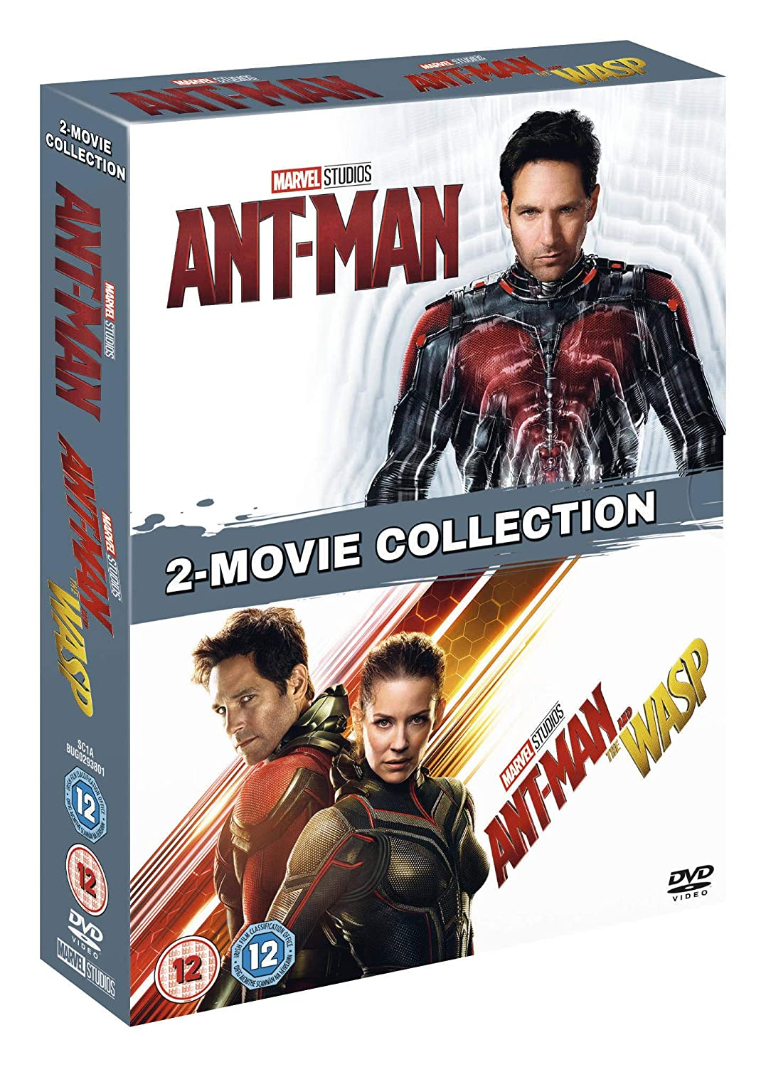 Ant-Man 1   2 Double pack  DVD   2018   Amazon.co.uk  DVD   Blu-ray 317d9fa7a