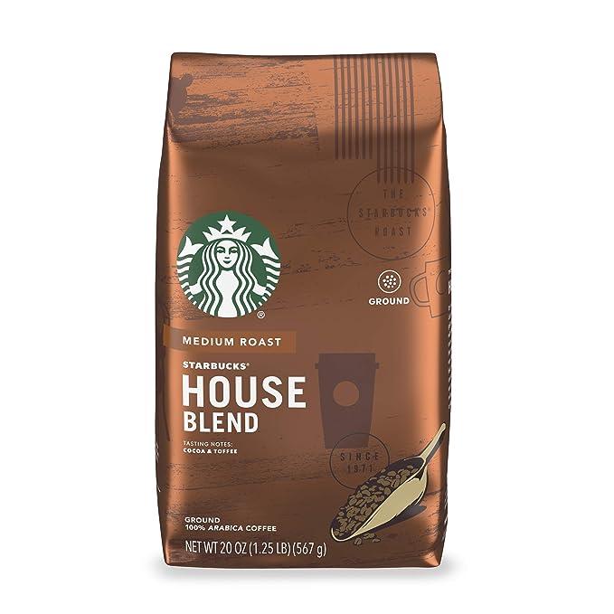 Starbucks Medium Roast Ground Coffee — House Blend