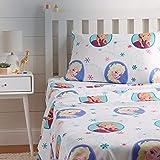 Amazon Basics by Disney Frozen Swirl Bed Sheet Set, Twin