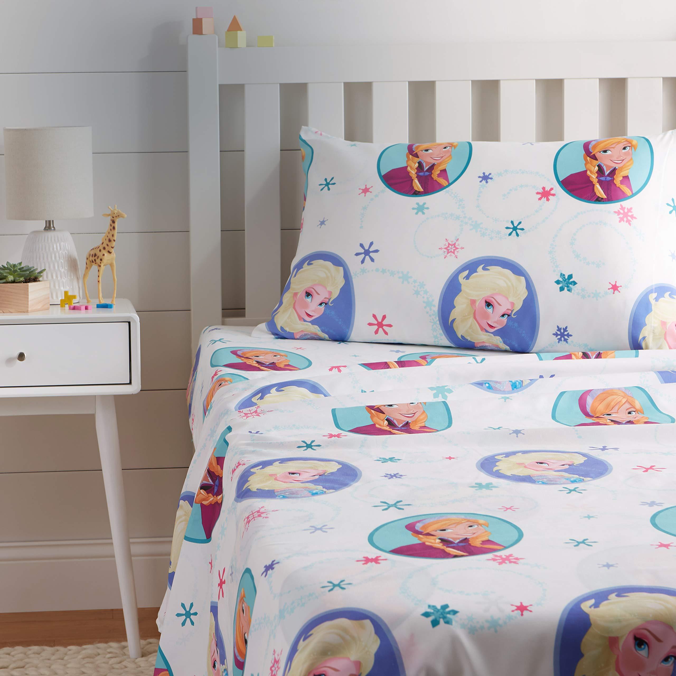 AmazonBasics by Disney Frozen Swirl Sheet Set - Twin