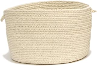 product image for Colonial Mills Shear Natural Utility Basket, 14 by 10-Inch, Canvas