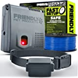 Wireless Dog Fence (2017 EDITION) 100% Safe & Reliable – In-Ground Cord Emits Invisible Electric Fence Barrier Using Our New Updated Wi-Fi Transmitter
