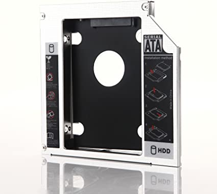"""for Apple SuperDrive 27/"""" inch iMac Late 2009 2nd Hard Drive HDD Caddy Adapter"""