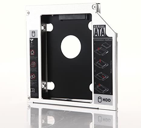dy-tech 2 nd Disco Duro HDD SSD Caddy para Fujitsu LifeBook E751 ...