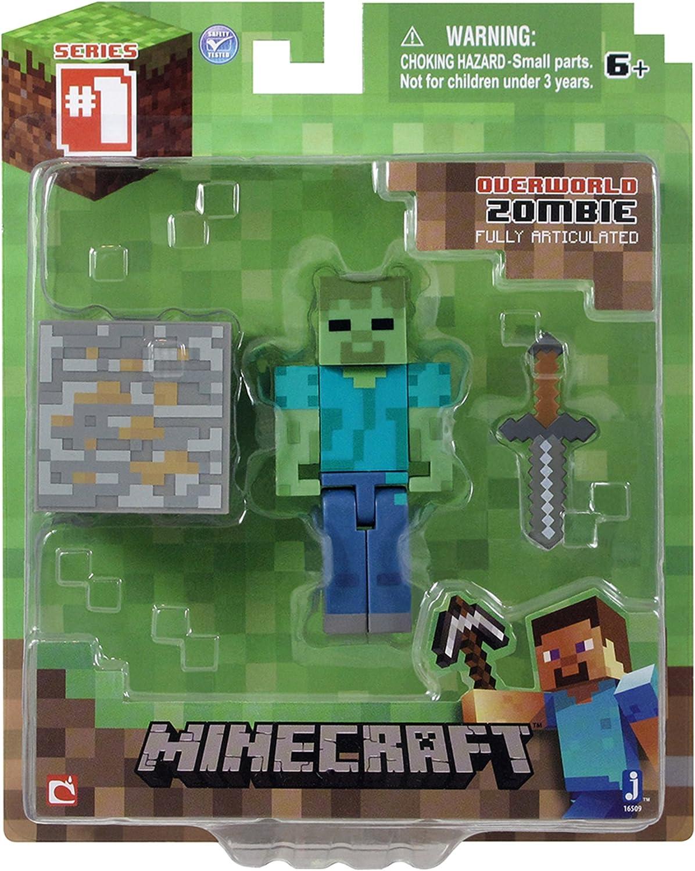 Minecraft - Figura de acción (16512): Amazon.es: Juguetes y juegos