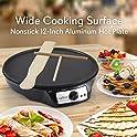 NutriChef Nonstick 12 Inch Electric Crepe Maker