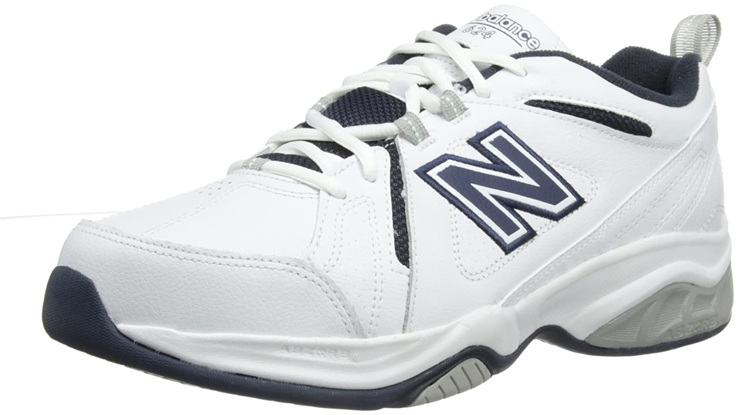 New Balance MX624WN3 Men/'s Extra Wide 6E Fitting Cross-Training White Shoes