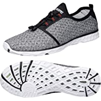 DOUSSPRT Mens Water Shoes Quick Drying Sports Aqua Shoes