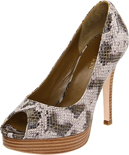 Womens Shoes Cole Haan Mariela Air OT Pump Wetlands Snake Print