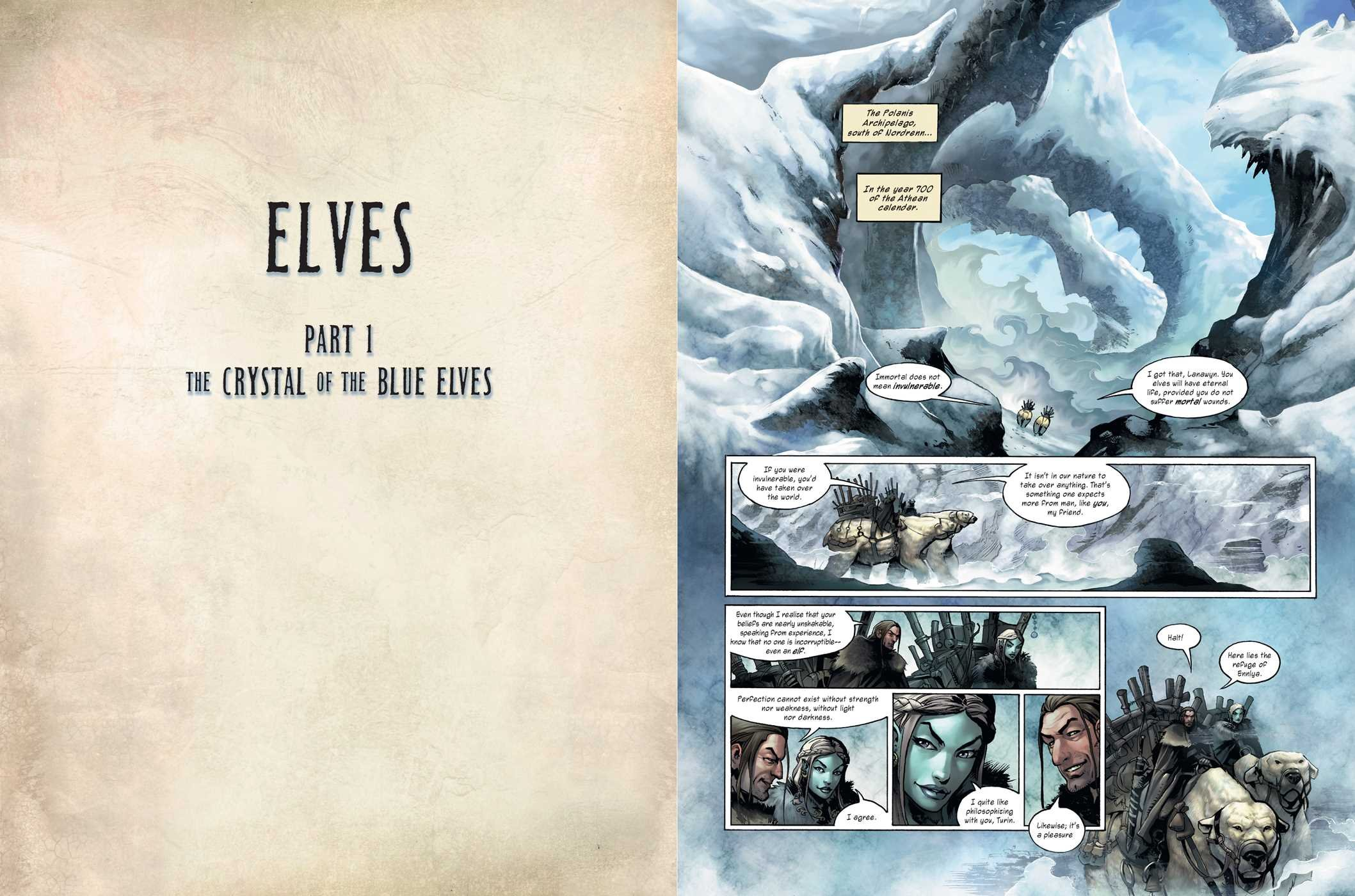 Elves, Vol  1 (1): Jean-Luc Istin, Nicolas Jarry, Kyko