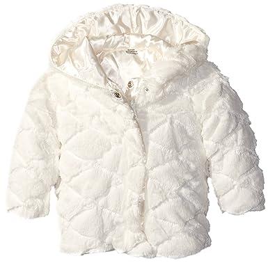 197083253 Amazon.com: London Fog Girls' Fancy Ribbon Faux Fur Coat: Clothing