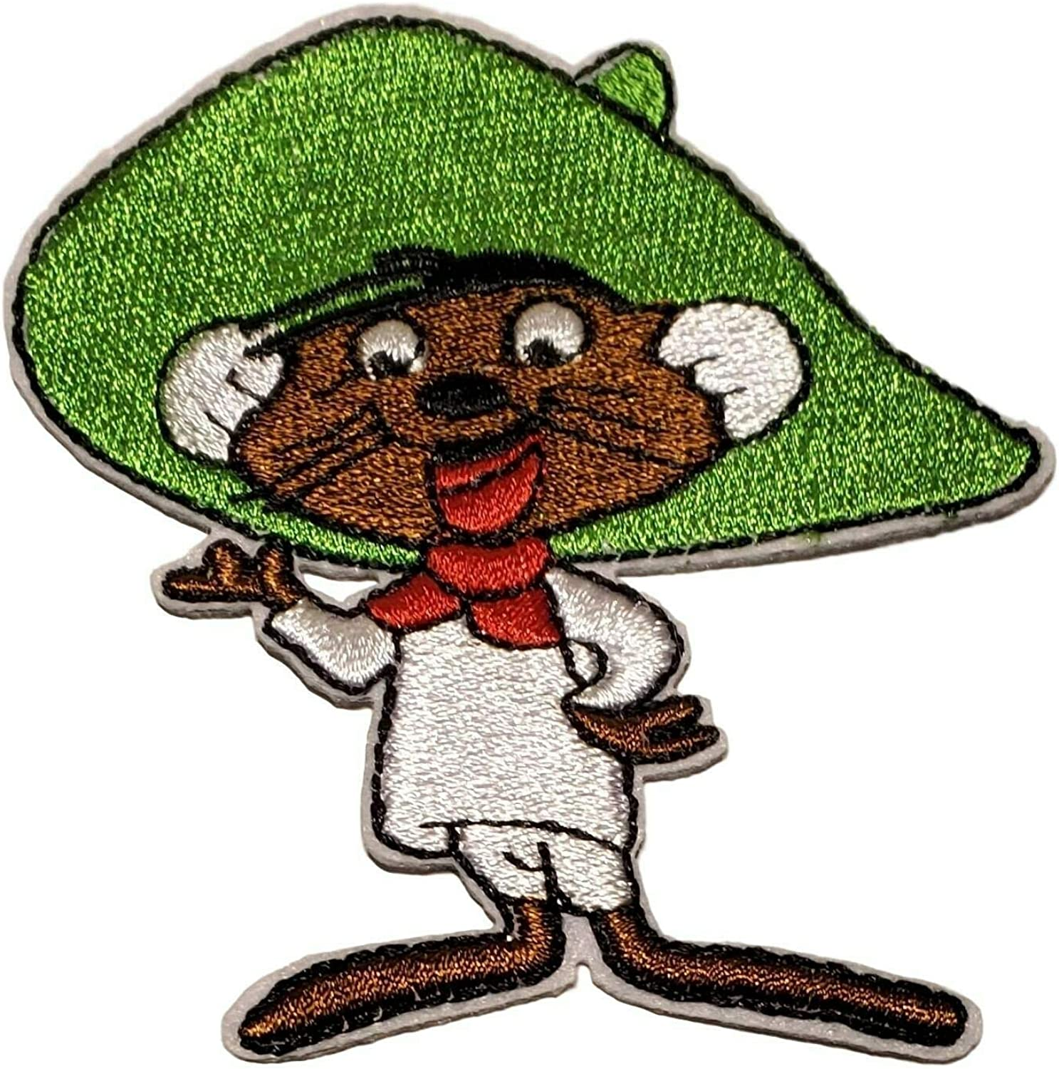 Looney Tunes Speedy Gonzalez Mouse Cartoon Embroidered Patch