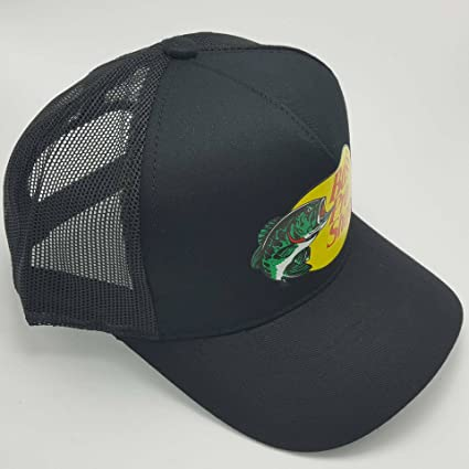 628b961c Bass Pro Shop Men's Trucker Hat Mesh Cap - One Size Fits All Snapback  Closure - Great for Hunting & Fishing